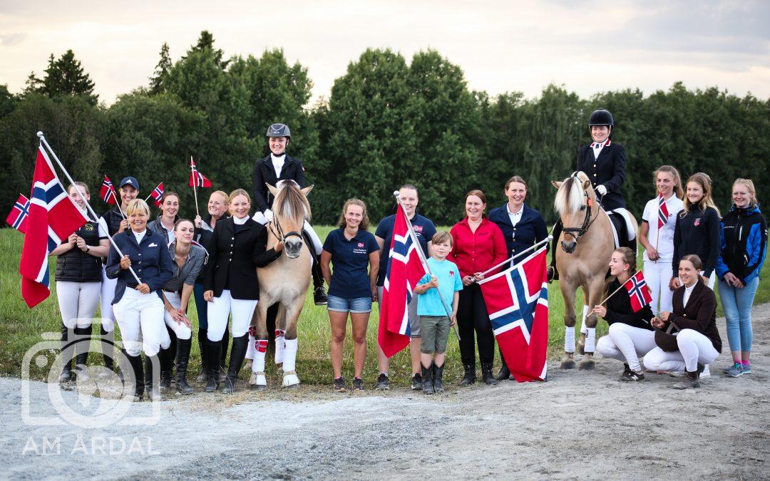 Nordisk mesterskap for fjordhest 2017 er åpnet